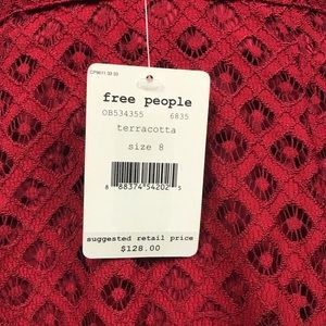 Free People Dresses - Free People One Million Lovers Lace Mini Dress